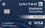 United℠ Explorer Business Card Review