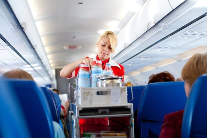 Airline In Flight Service