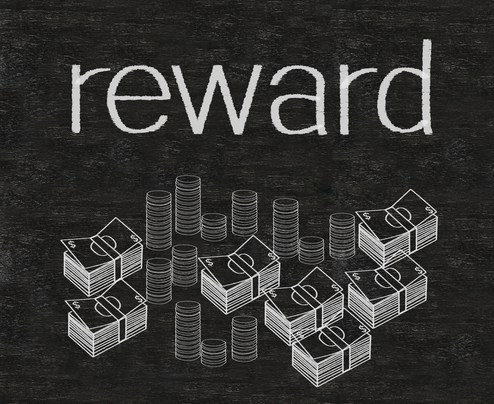 Earning a Stack of Rewards