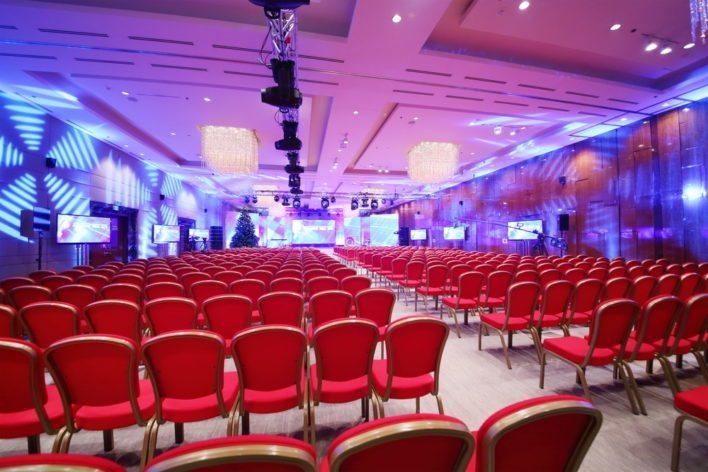Hotel Conference Setup