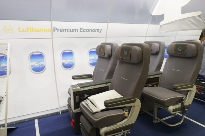 Premium Seating on Lufthansa