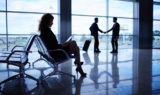 Travel Partners in Airport