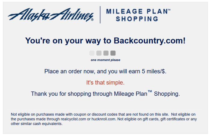 alaska mileage plan shopping backcountry.com shop