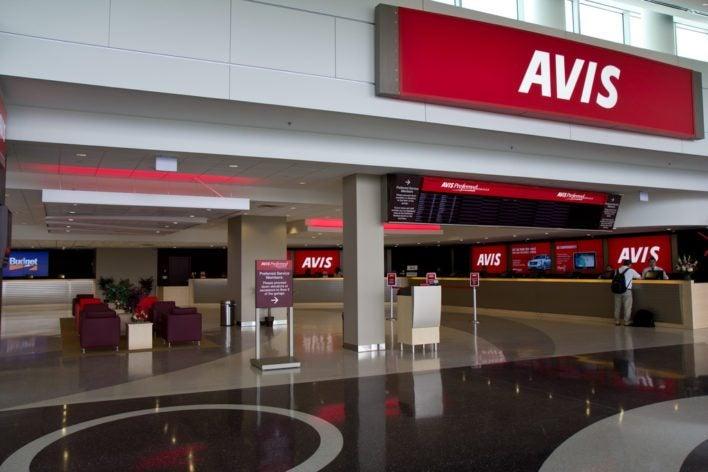 british airways rental car parnter avis