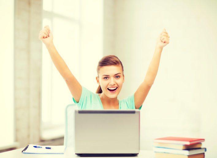 Celebrating Earning Points
