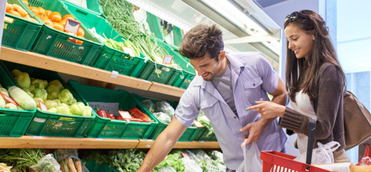 Spending at grocery stores can earn you