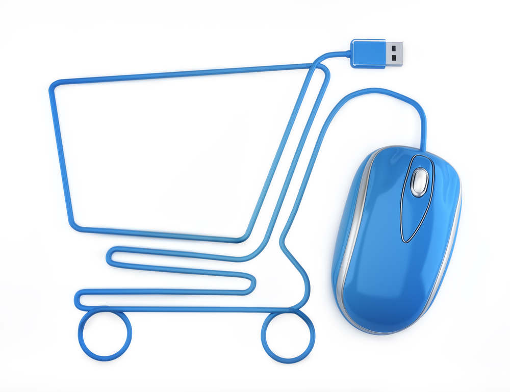 Mouse Cord Online Shopping Symbol