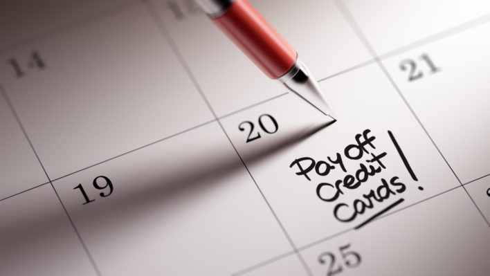 Calendar Reminder to Pay Credit Card