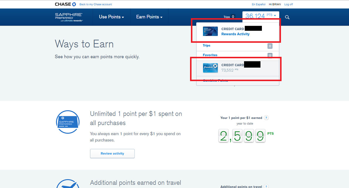 How to maximize your chase ultimate rewards points 2018 updated switch between chase ur cards reheart Gallery