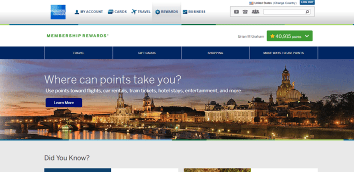American_Express_Membership_Rewards_Main_Screen