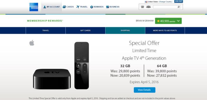 American Express Membership Rewards Shopping Portal