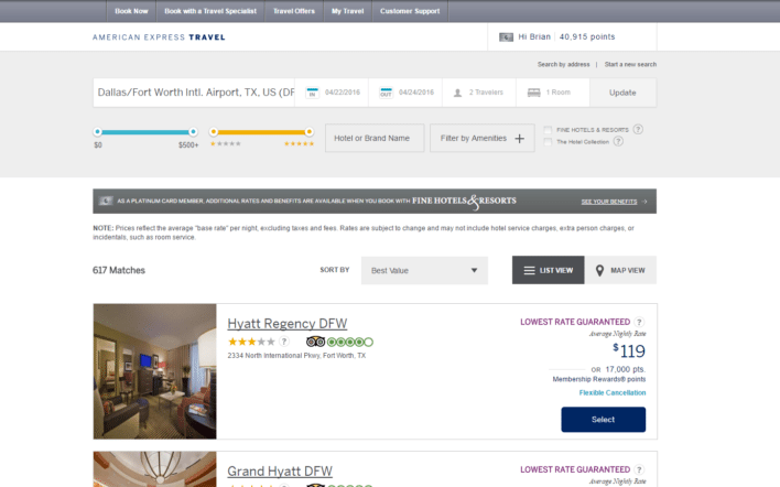 Amex_MR_Hotel_Booking_Screen