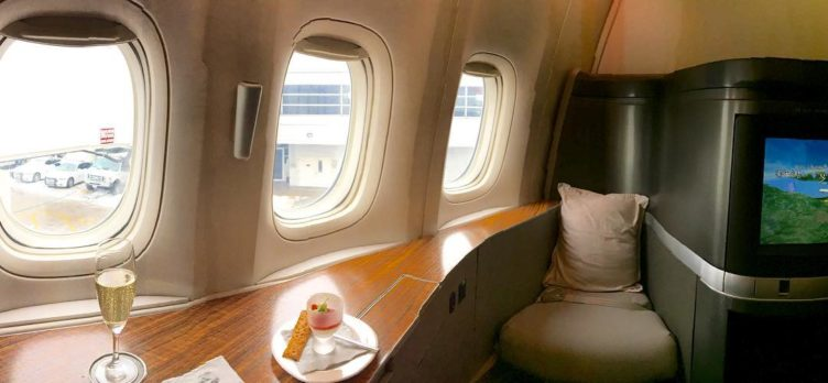 cathay pacific first class