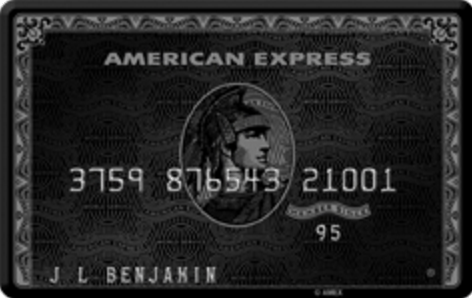 Centurion® Card from American Express (Black Card)