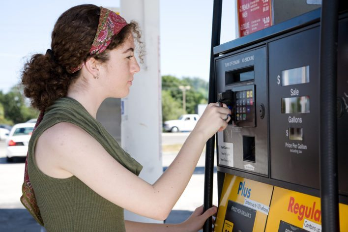 Use Your HHonors Amex at Gas Stations