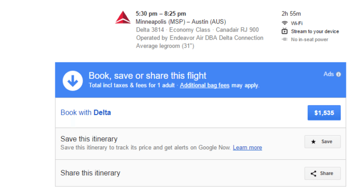 Google Flights Saved Flights How to Save