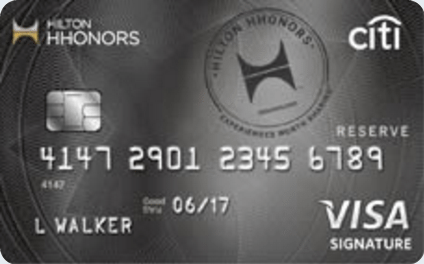 Citi® Hilton Honors™ Reserve Card Review