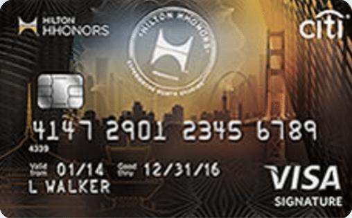 Citi® Hilton Honors™ Visa Signature® Card