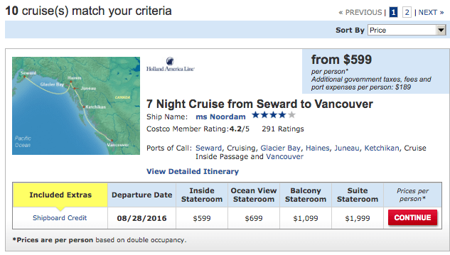 Cruise-package-criteria-costco-travel
