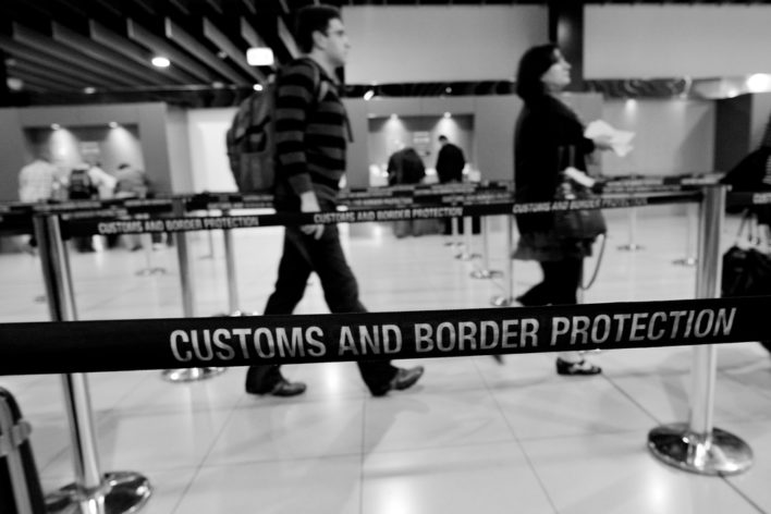 Customs and Border Patrol - Use Global Entry