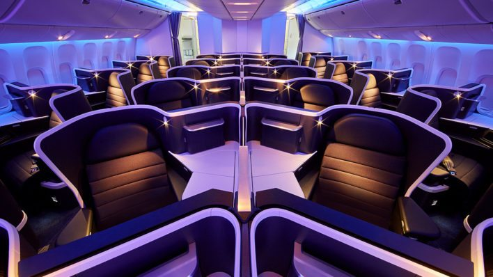 Virgin Australia in Business Class