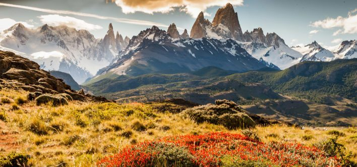 Use your SkyMiles to fly to beautiful Patagonia. Image courtesy of eu.patagonia.com.