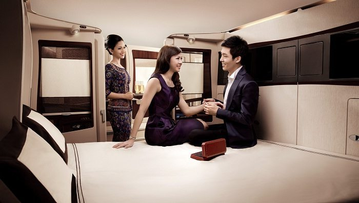 Looking for the most romantic flight experience out there? Don't miss Singapore Suites on the A380 with your special someone.