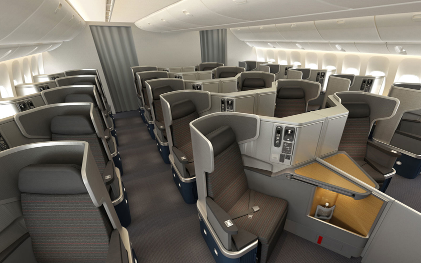 A Look Inside American Airlines Business Cl
