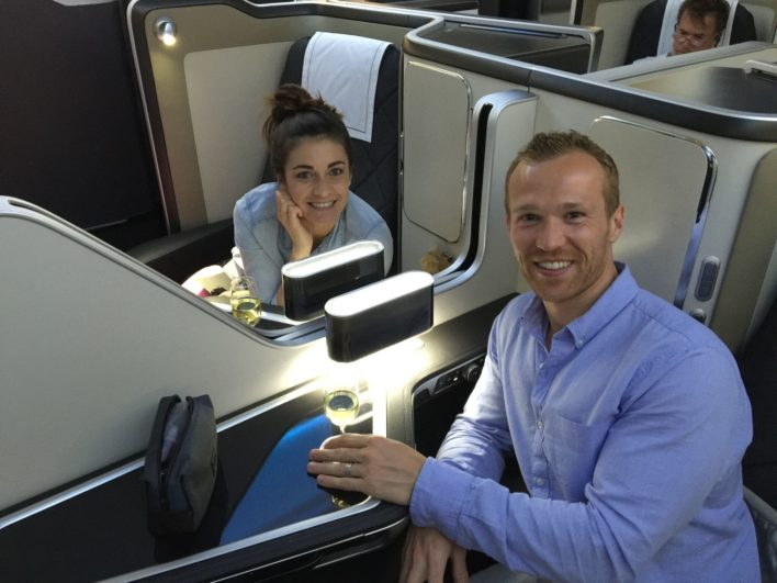 Fly British Airways First Class with a companion without paying more miles with the Travel Together Ticket earned via spending on their co-branded credit card.