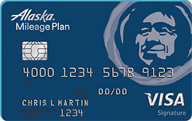 Bank of America Alaska Airlines Visa Signature Credit Card