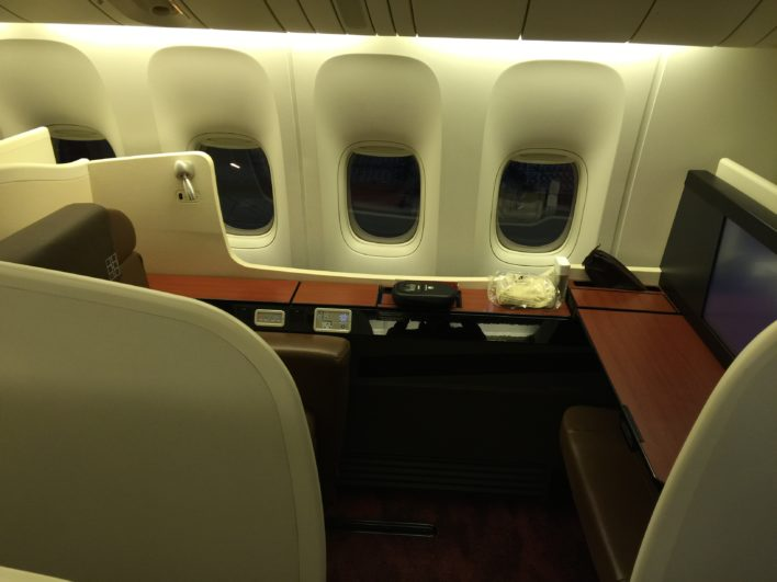 japan airlines first class 777