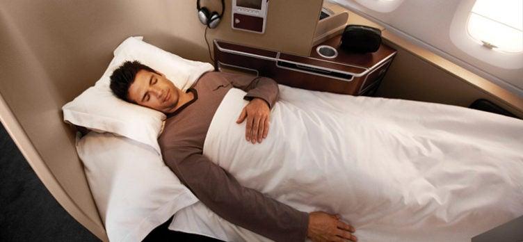 qantas airways first class
