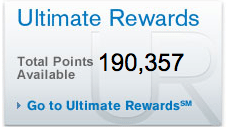 chase ultimate rewards balance