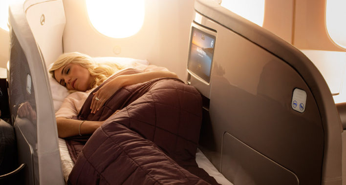 fly air new zealand business class using virgin atlantic miles