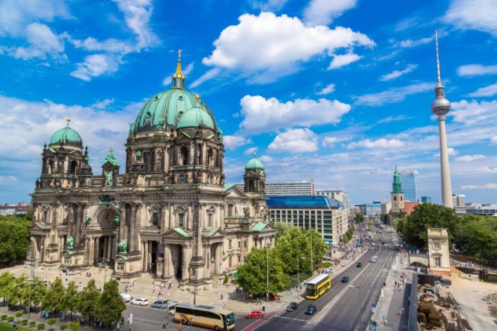 Don't miss Berlin on your next visit to Europe! It's a fun city with so much history. Image curtesy of telegraph.co.uk.