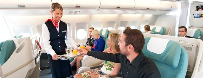 Fly Czech Airlines from Prague to Seoul in Business class for less than some airlines would charge for economy! Image curtesy of czechairlines.com.