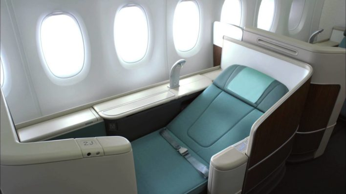 Korean Airlines First Class