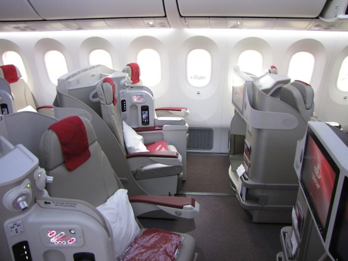Royal Air Maroc might not be an airline you are overly familiar with, but when business class flights from the U.S. cost only 44,000 miles, you should take the time to learn! Image courtesy of flight-report.com.