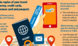 How To Stay Safe While Traveling The World - Infographic
