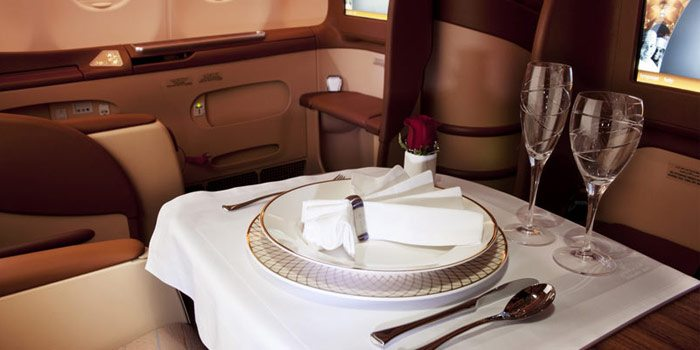A great business class product on an under-the-radar airline, Oman Air. Image courtesy of omanair.com.