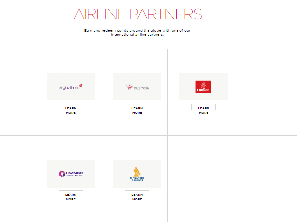 virgin america airline partners