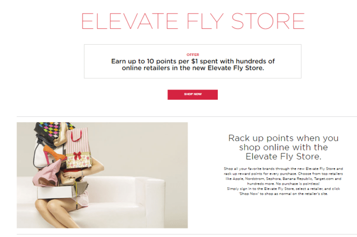 virgin america elevate fly store