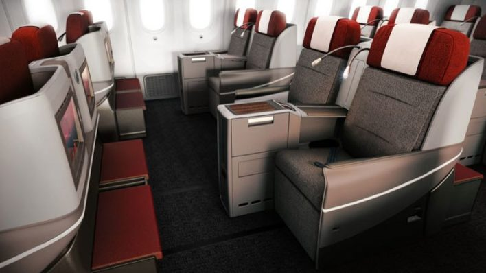 LATAM's B787 Business class has a fresh new look and you can use your American Airlines miles to fly it! Image courtesy of luxurytraveldiary.com.