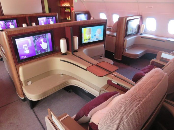 Qatar Airways First Class