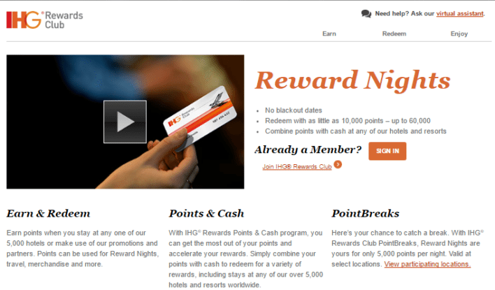 Lufthansa Miles and More IHG Rewards Club