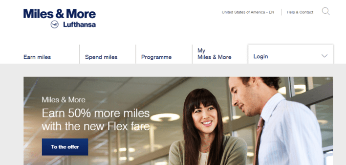 Lufthansa Miles and More program