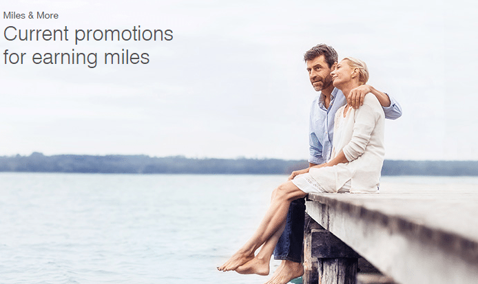 Lufthansa Miles and More special offers