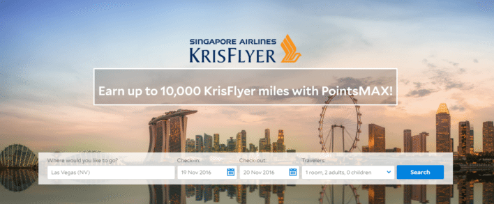 Singapore Airlines KrisFlyer Agoda