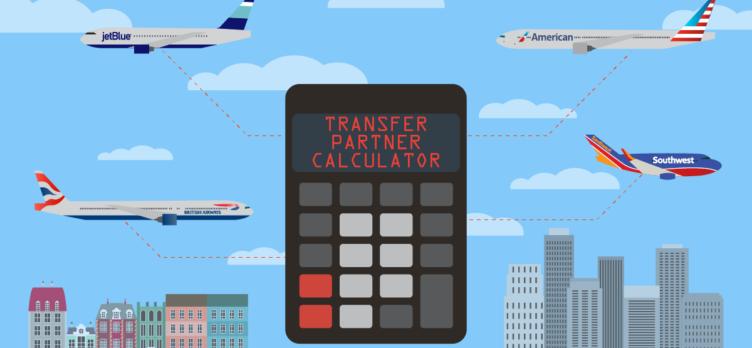 Flexible Point Transfer Partner Calculator