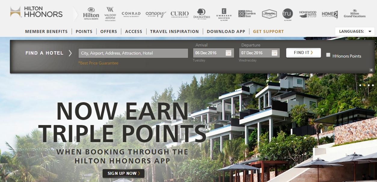 Hilton Hhonors Program
